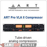 ART Pro VLA II 2 Channel Compressor