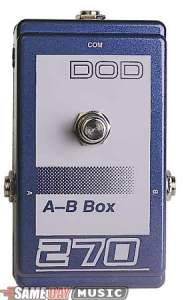 DOD 270 AB Switching Pedal