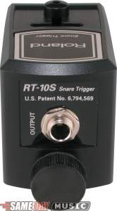 Roland RT-10S Dual Zone Acoustic Snare Drum Trigger