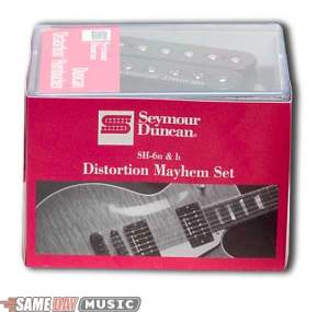 Seymour Duncan Distortion Mayhem Humbucker Pickup Set SH6N and SH6B