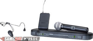 Shure PG1288PG30 Wireless Handheld and Headset Microphone System