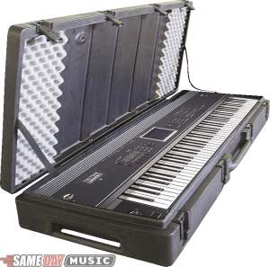 SKB R6020W 88 Key Roto Molded Keyboard Case with Wheels