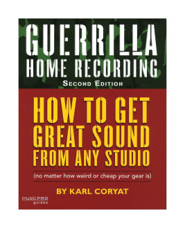 Hal Leonard Guerrilla Home Recording