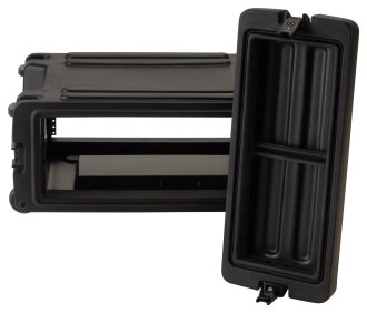 SKB R4W 4 Unit Roto Rolling Rack Case