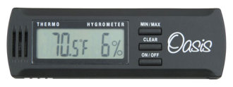 Oasis OH2 Digital Hygrometer Thermometer