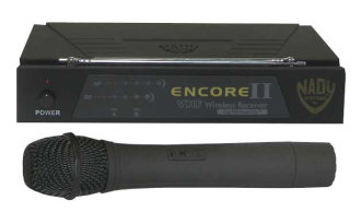 Nady Encore II VHF Diversity Handheld