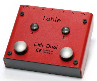 Lehle Little Dual Amp Switcher Pedal