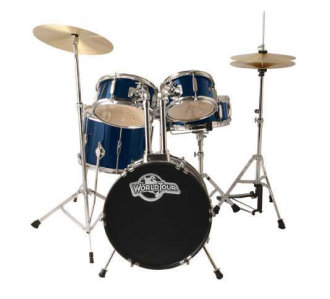 World Tour JR5 Junior Drum Kit