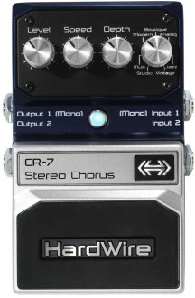 HardWire CR7 Stereo Chorus Pedal