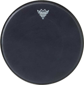 Remo Black Suede Emperor Drumhead