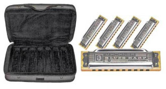 Hohner Case Of Blues Harmonicas