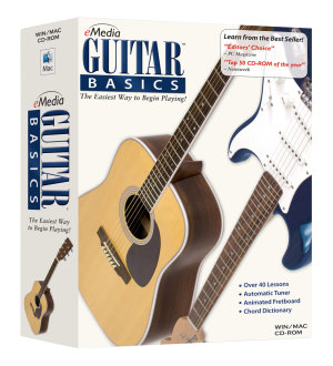 eMedia Guitar Basics Software