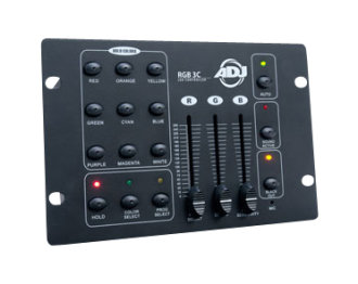 American DJ RGB3C Lighting Controller