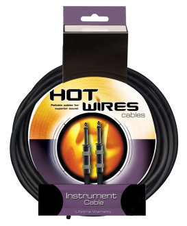 Hot Wires Heat Shrink Guitar Cable
