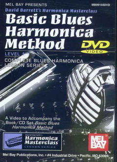 Mel Bay Basic Blues Harmonica Method DVD