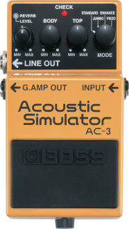 Boss AC3 Acoustic Simulator Pedal