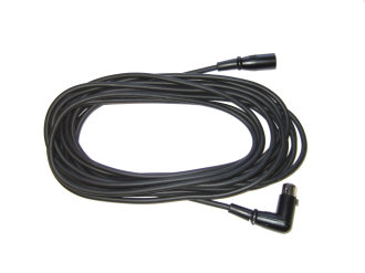 Audix CBLDR25 Mic Cable with Right Angle