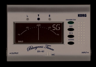 Korg BA40 Bluegrass Instrument Tuner