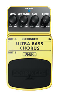 Behringer BUC-400 Bass Chorus Pedal