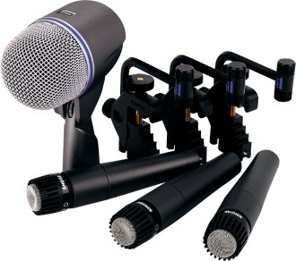 Shure Drum Microphone Package