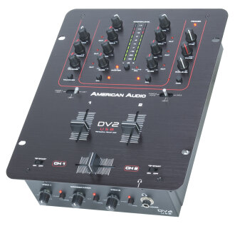 American Audio DV2 USB Digital DJ Mixer