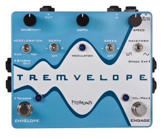 Pigtronix Tremvelope Tremolo Pedal