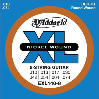 DAddario EXL140 8 Guitar Strings