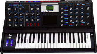 Minimoog Voyager Electric Blue Synth