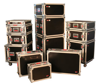 Gator GTOUR Rack Case with Casters