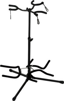 On-Stage Heavy-Duty Triple Guitar Stand