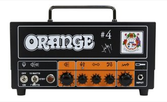 Orange Signature 4 Jim Root Terror Head