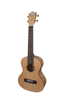 Lanikai LQAT Tenor Quilt Ash Ukulele