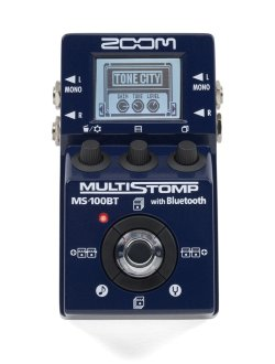 Zoom MS-100BT MultiStomp Guitar Pedal
