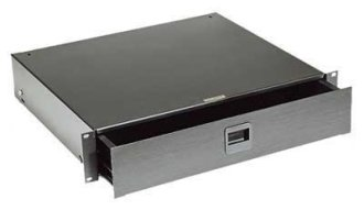 Mid Atlantic 4U Rack Drawer w Key Lock