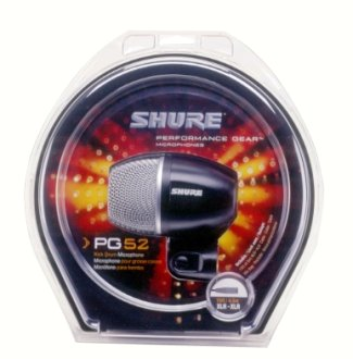 Shure PG52 Performance Gear Kick Mic