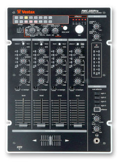 Vestax PMC280 4-Channel DJ Mixer