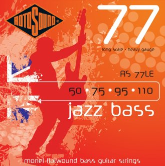 Rotosound Jazz Bass 77 Monel Flatwound