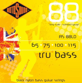 Rotosound Tru Bass 88 Black Nylon
