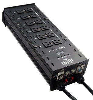 Chauvet Pro D6 Dimmer Pack Light Control