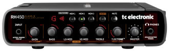 TC Electronic RH450 Bass Amp 2.0 Head