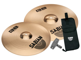 Sabian B8 Thin Crash Cymbal Package