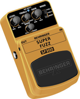 Behringer SF300 Super Fuzz Pedal