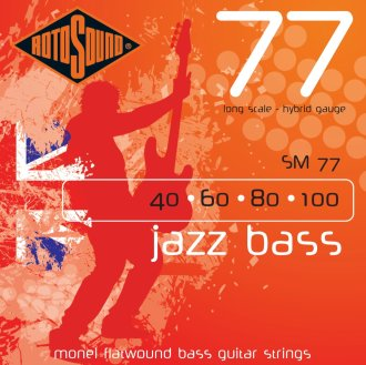 Rotosound SM77 Jazz Bass Monel Flatwound
