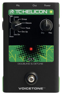 TC Helicon VoiceTone D1 Doubling Detune