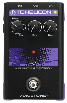 TC Helicon VoiceTone X1 Extreme Pedal