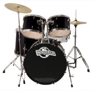 World Tour ST5 Standard 5-Piece Drum Kit
