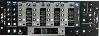Denon DNX500 Professional Rack DJ Mixer