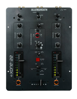 Allen and Heath Xone 22 DJ Mixer