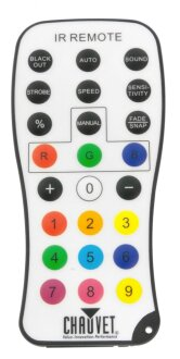 Chauvet IRC Lighting Remote Controller