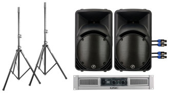 Mackie C300z and QSC GX3 PA System
